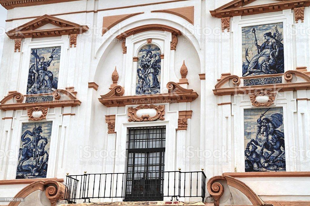 Hospital de la Caridad, Seville, Spain royalty-free stock photo