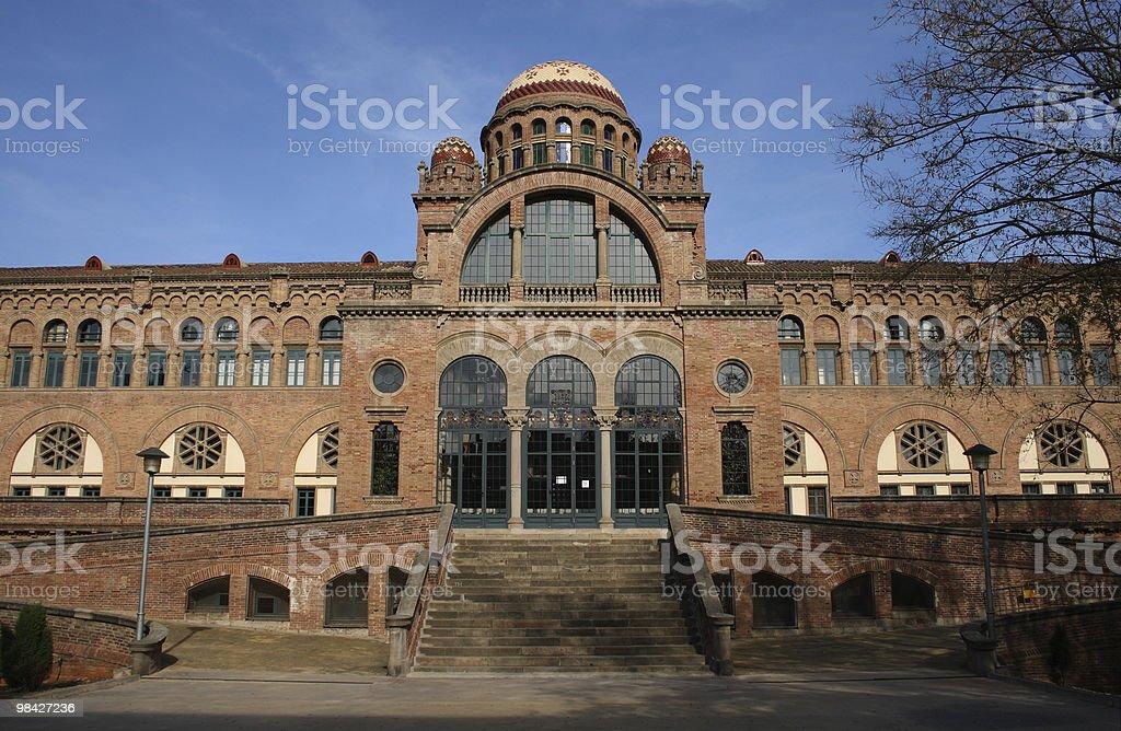 Hospital de la Santa Creu i Sant Pa royalty-free stock photo