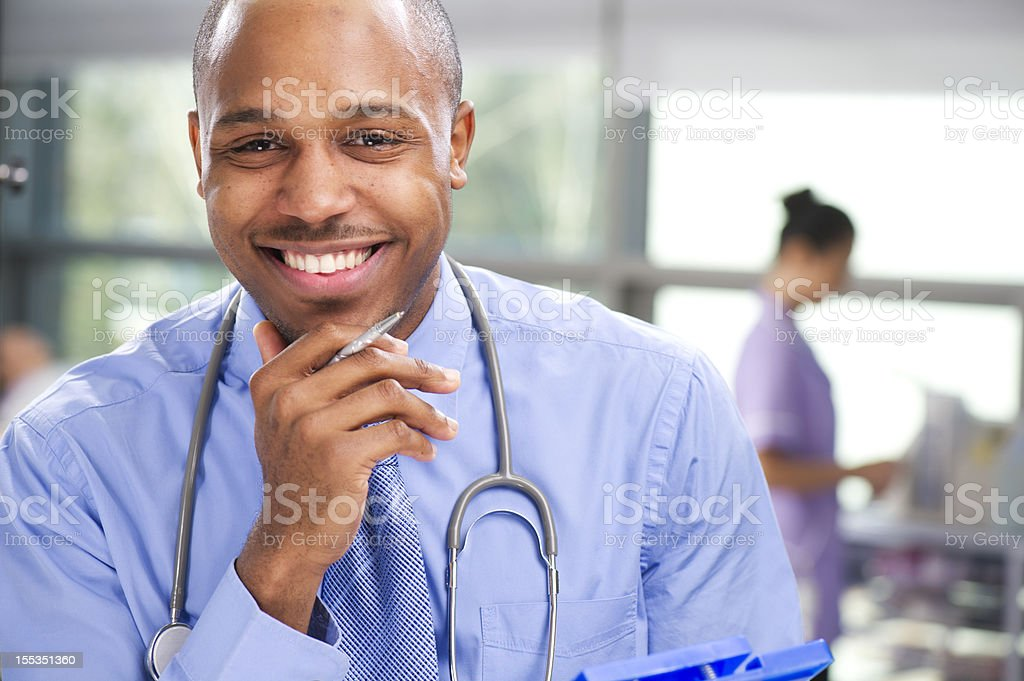 hospital doctor royalty-free stock photo