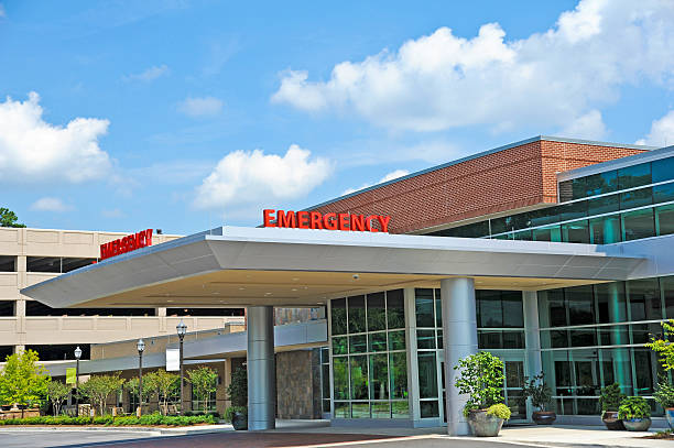 Hospital Emergency Room stock photo