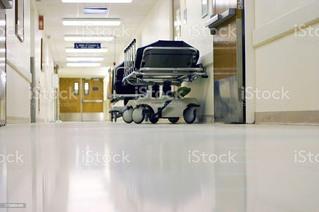 Hospital Hall stock photo