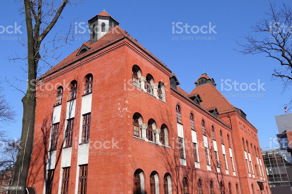 Hospital in Poland stock photo