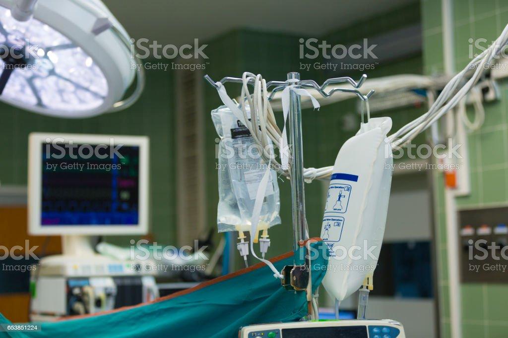 Hospital. Intensive care unit stock photo