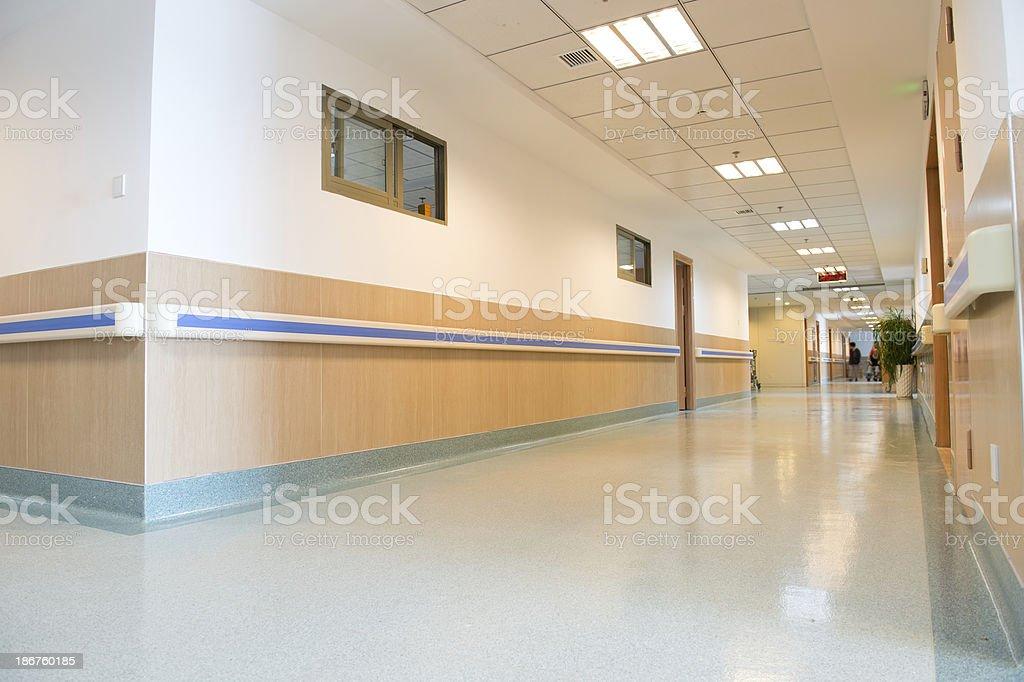 hospital interior royalty-free stock photo
