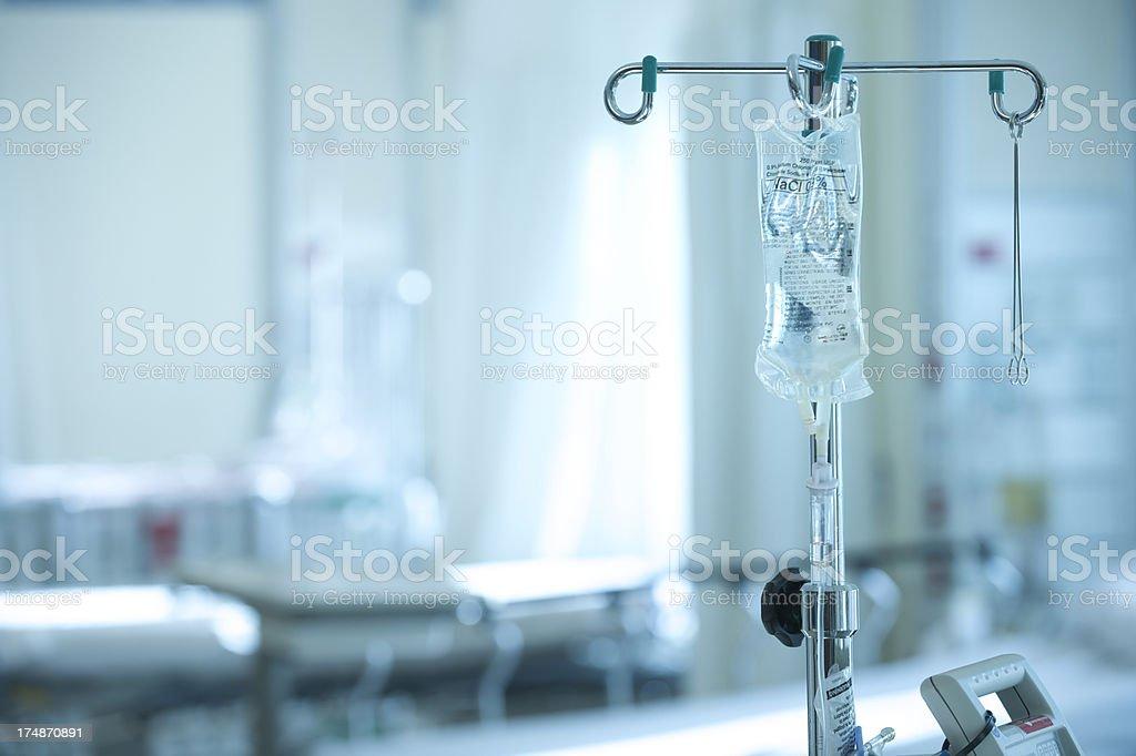 Hospital intravenöse IV-Tasche – Foto