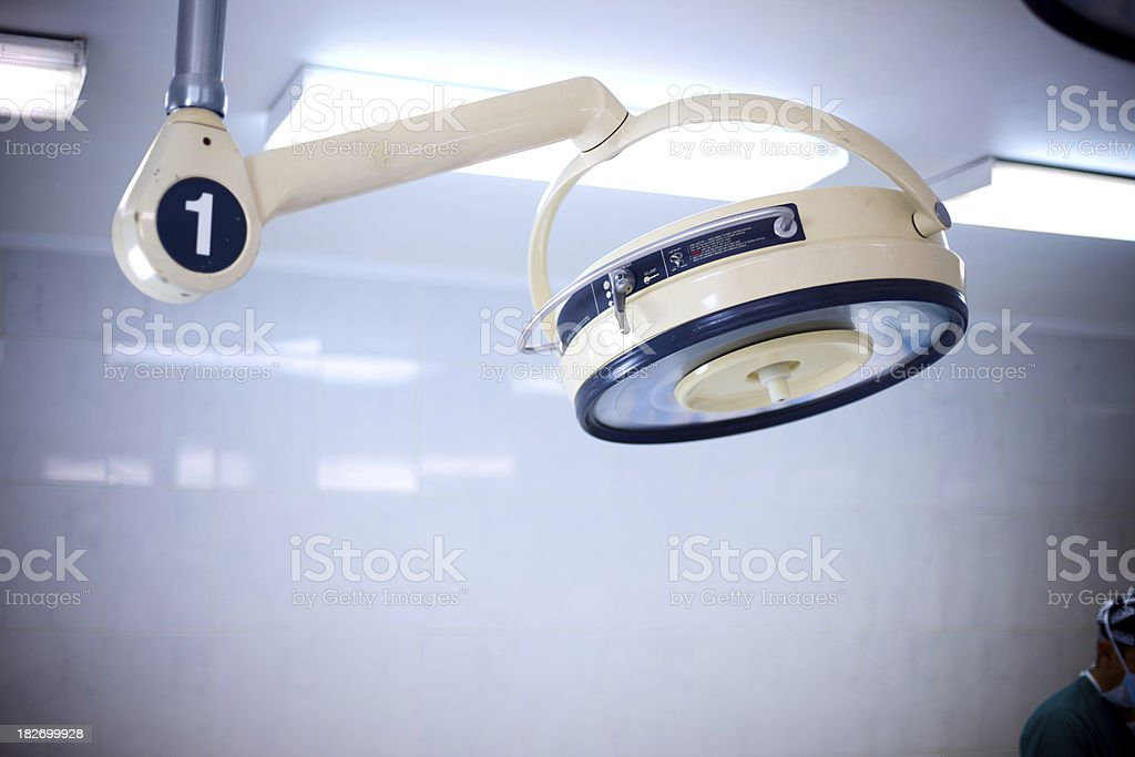 hospital medical equipment stock photo