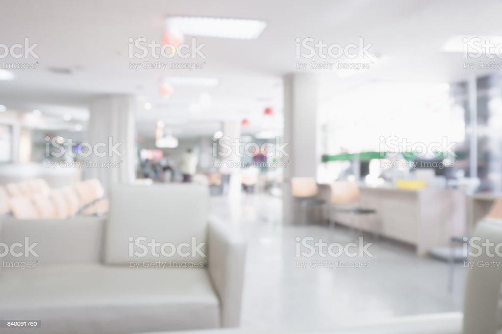 Krankenhaus medizinische Innenraum unscharfen Hintergrund – Foto