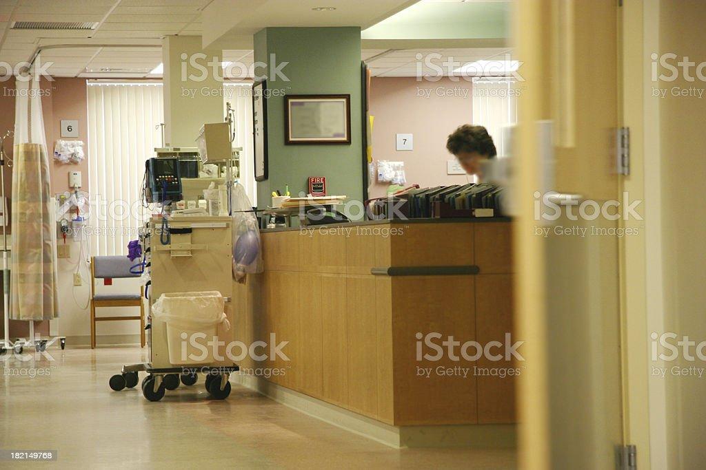 Krankenhaus Krankenschwester Station – Foto