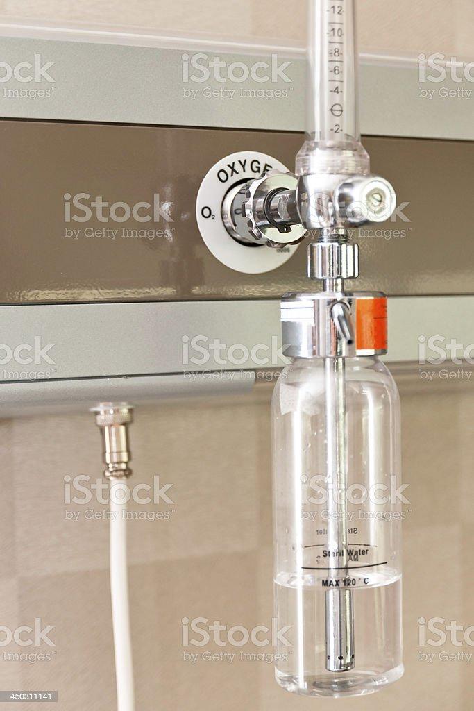 Hospital Oxygen Equipment royalty-free stock photo