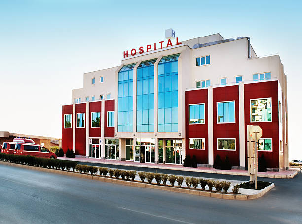 hospital - hospital building stock photos and pictures