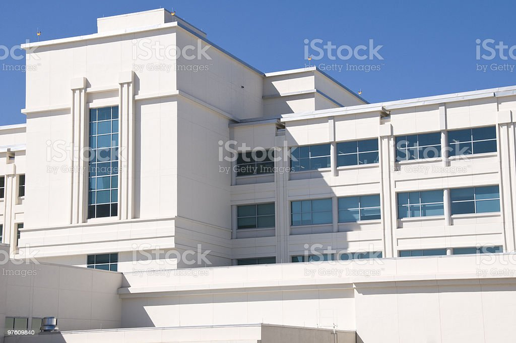 Hôpital photo libre de droits