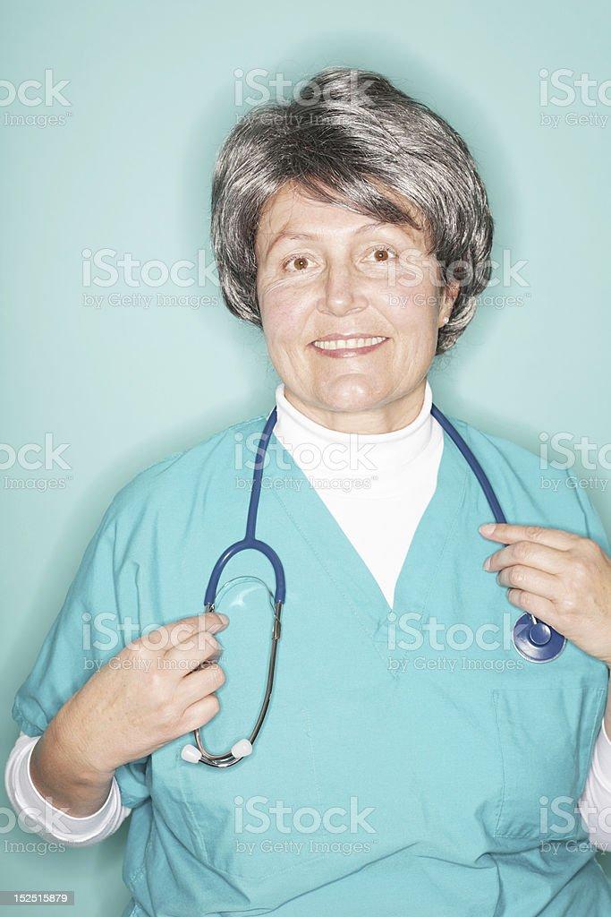 Hospital portrait royalty-free stock photo