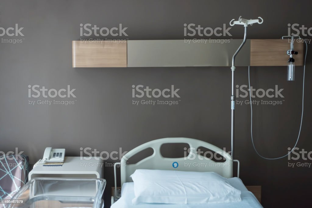 Hospital Room stock photo