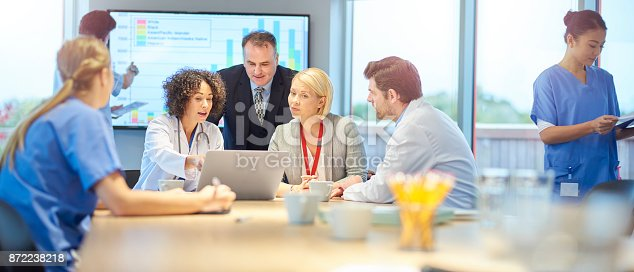 istock hospital team discussion 872238218