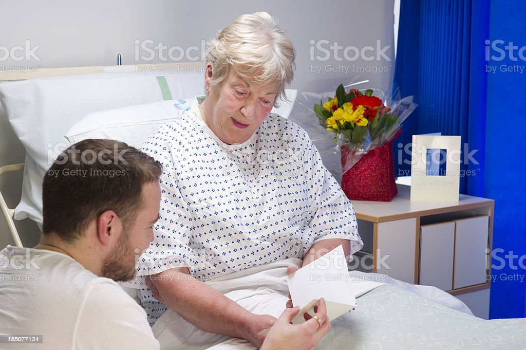 hospital visit royalty-free stock photo