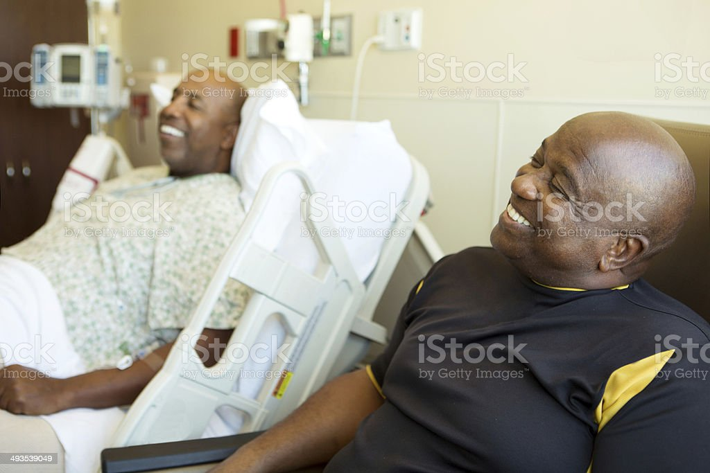 Hospital Visitation stock photo