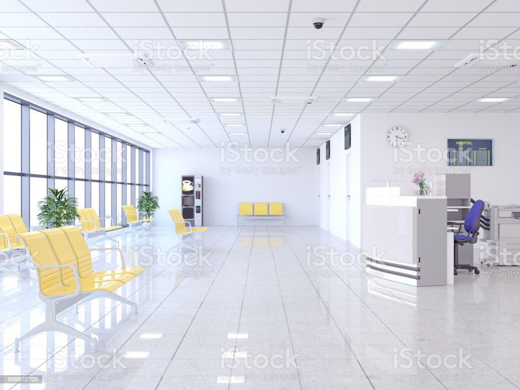 Krankenhaus Wartezimmer – Foto