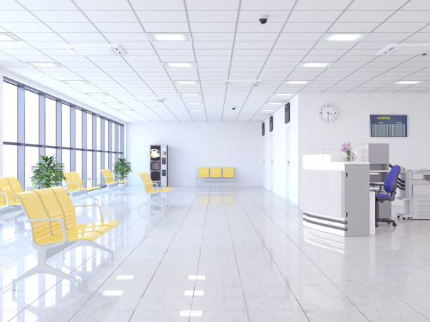 病院の待合室 - 玄関ホール ストックフォトと画像