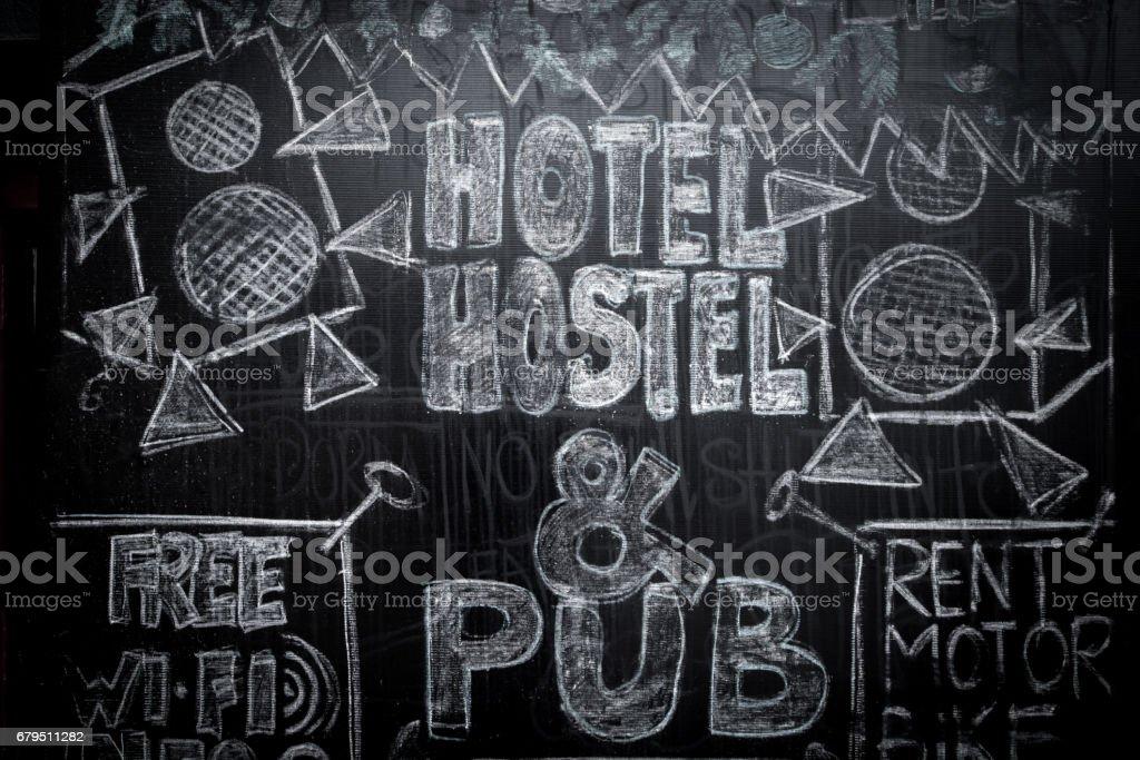 hostel royalty-free stock photo