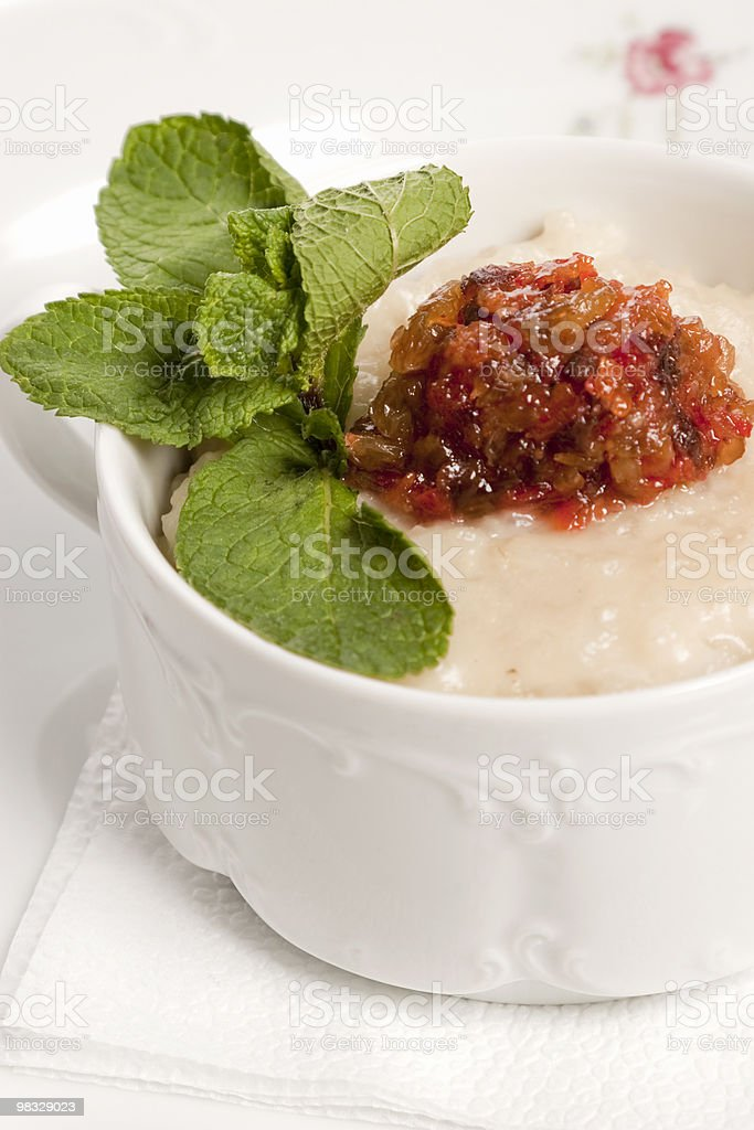 Hot a dish royalty-free stock photo