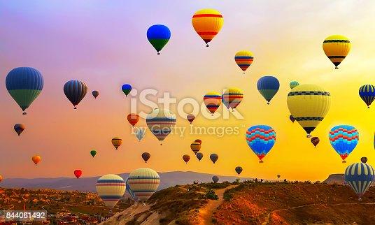 istock hot air ballons flight 844061492