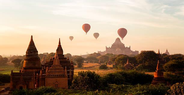 Pagan Sonnenaufgang, Myanmar – Foto