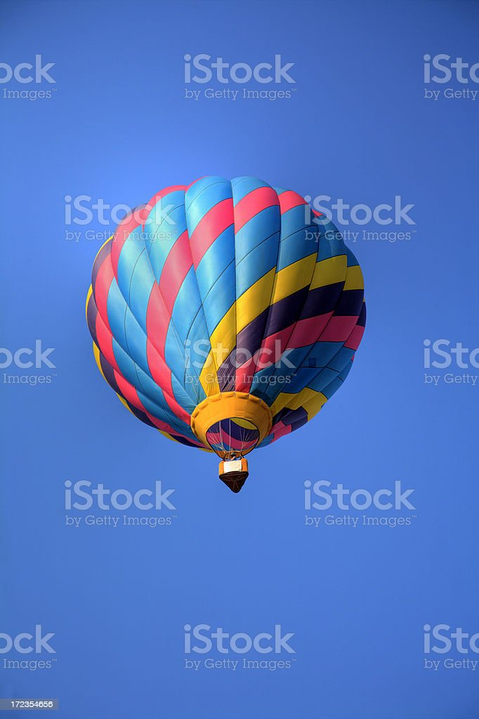 Hot Air Balloon 6 royalty-free stock photo