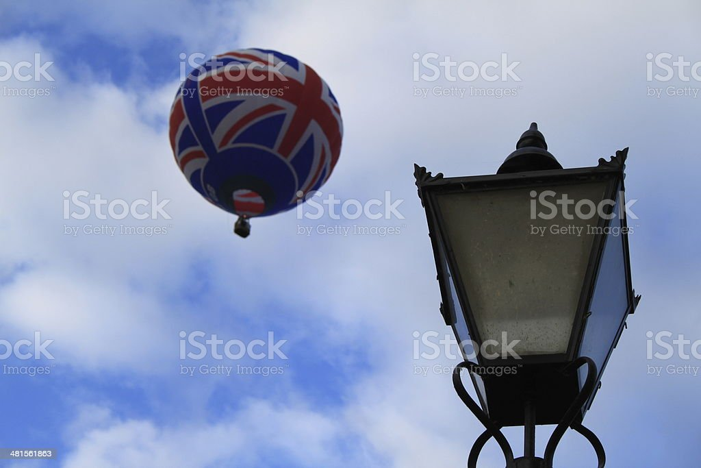 Hot Air Balloon, Bristol Balloon Fiesta, Fly, Skies the limit, stock photo