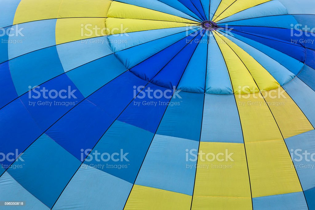 Hot Air Balloon Close-up Background royalty-free stock photo