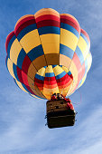 A crisp cool fall morning in Page Arizona for the annual Balloon Festival