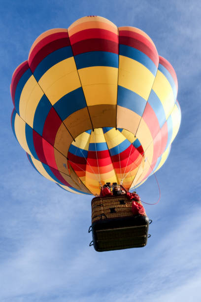 Hot Air Balloon Festival In Page Arizona A crisp cool fall morning in Page Arizona for the annual Balloon Festival page arizona stock pictures, royalty-free photos & images