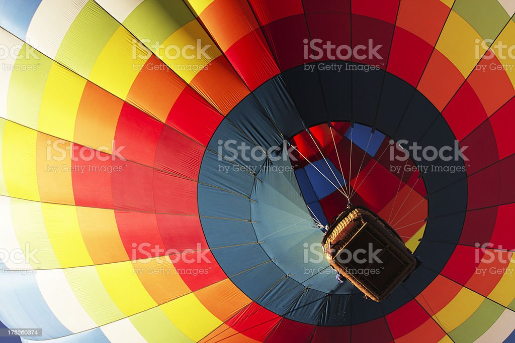 Hot Air Balloon Festival Launch stock photo