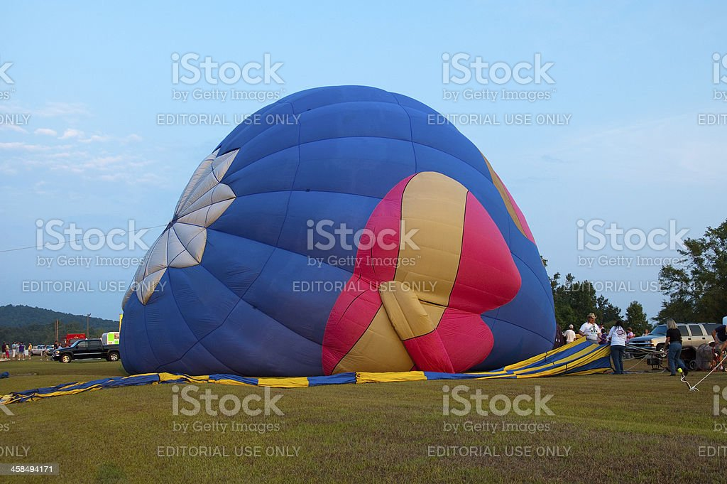 Hot Air Balloon Festival royalty-free stock photo