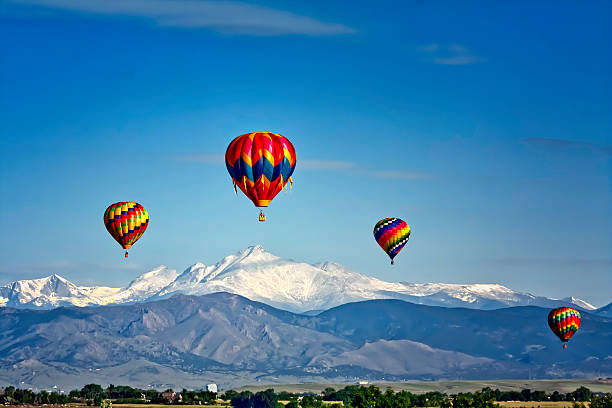 Hot Air Balloon Festival stock photo