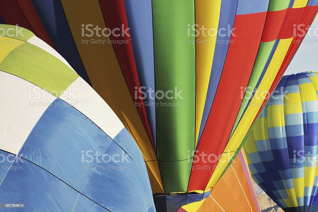 Hot Air Balloon Fiesta Color royalty-free stock photo