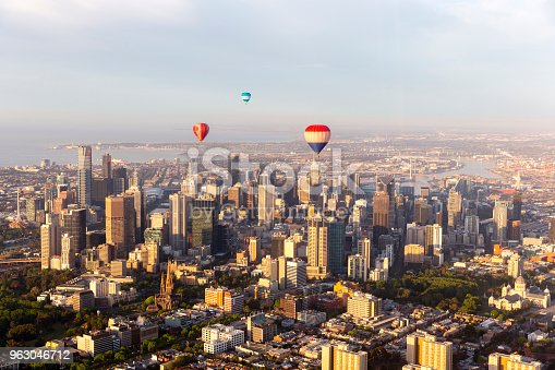 istock Hot Air Balloon Melbourne 963046712