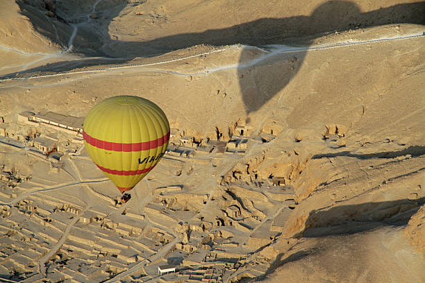 Hot Air Balloon over Valley of the Kings, Egypt