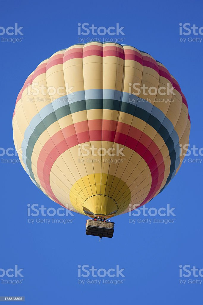 Hot air balloon. – Foto