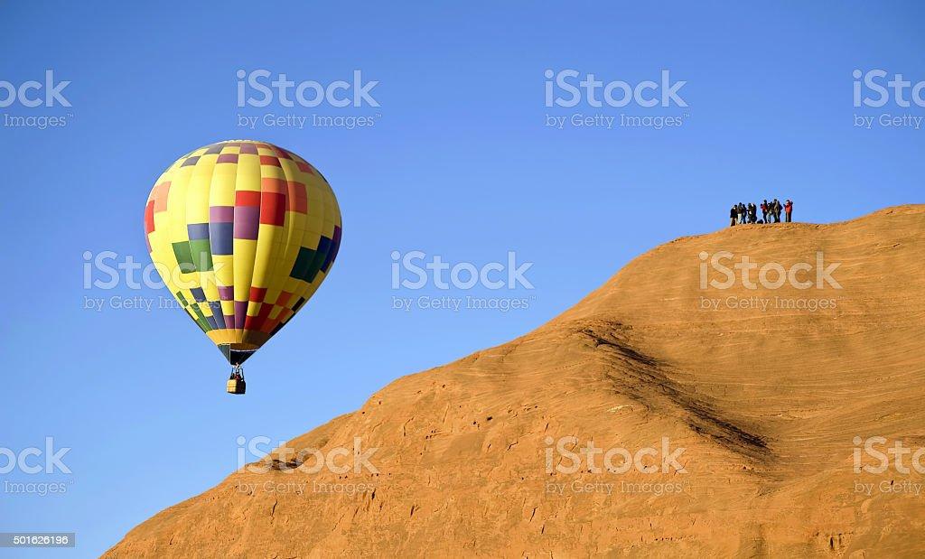 Hot Air Balloon. stock photo