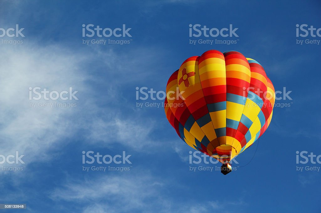 Hot Air Balloon bildbanksfoto
