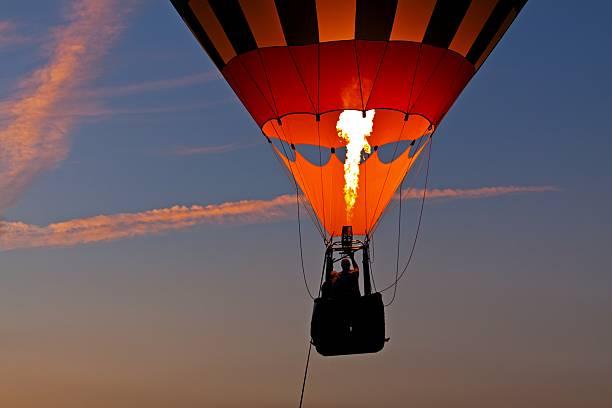 Hot Air Balloon Ride at Sunset