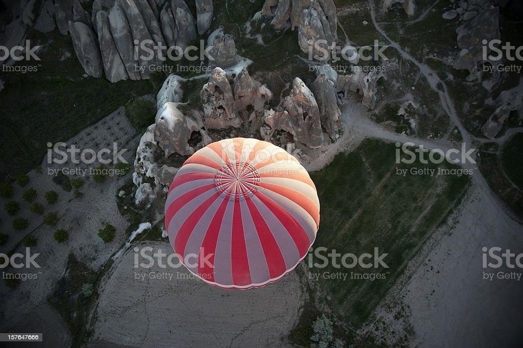 Hot Air Balloon Ride, Cappadocia royalty-free stock photo