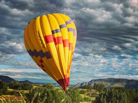 Hot Air Balloon Ride in Sedona, Arizona