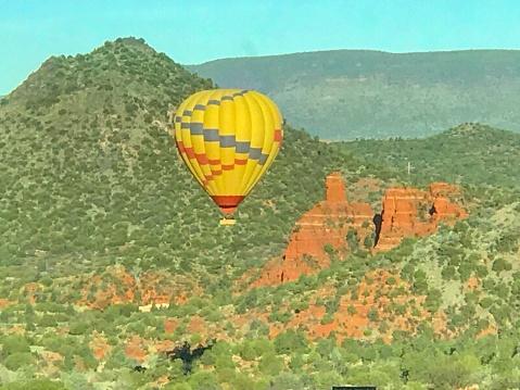 Hot Air Balloon Ride in Sedona, Arizona USA