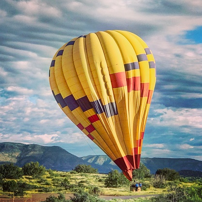 Hot Air Balloon Ride in Sedona , Arizona USA