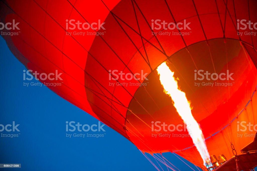 Heißluftballon fliegen Sie – Foto