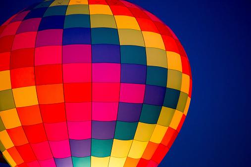 Hot air balloons and the Balloon Festival in Albuquerque New Mexico