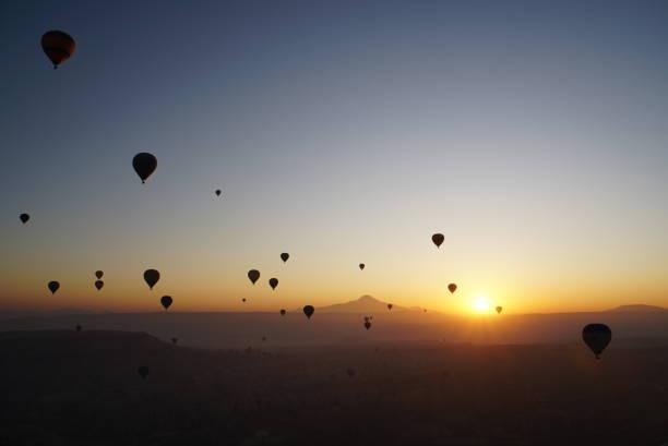 Heißluftballons - Kappadokien – Foto
