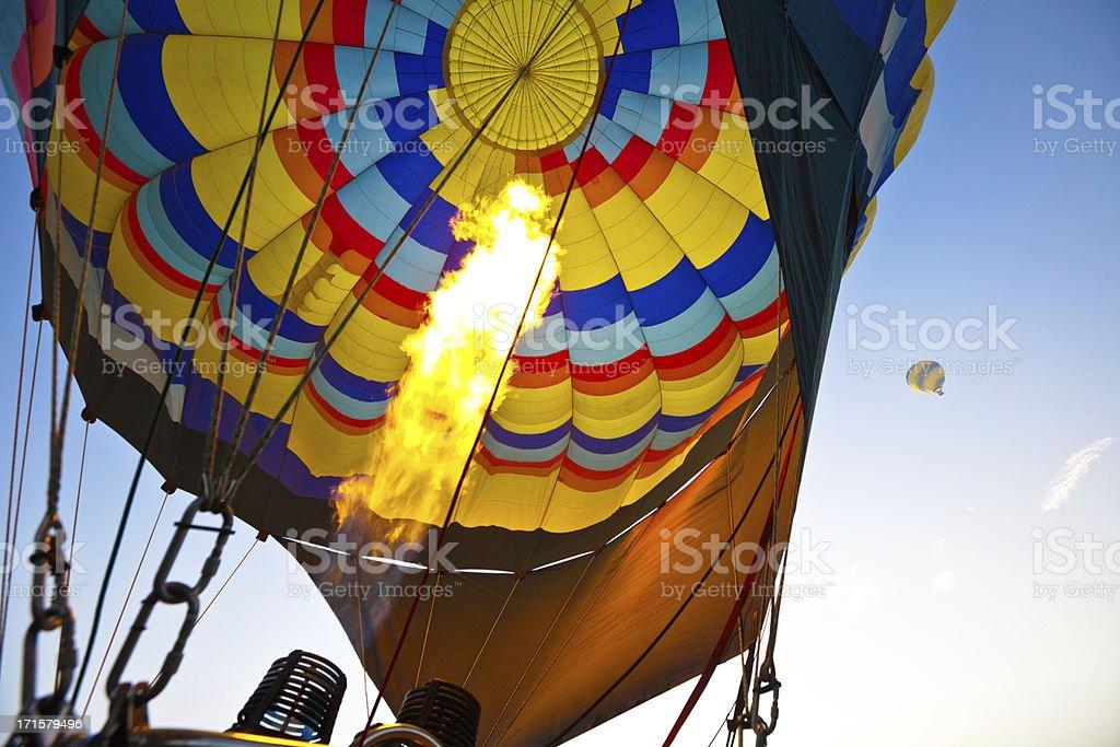 Hot Air Balloons in Napa Valley California royalty-free stock photo