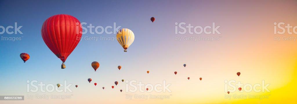 hot air balloons – Foto